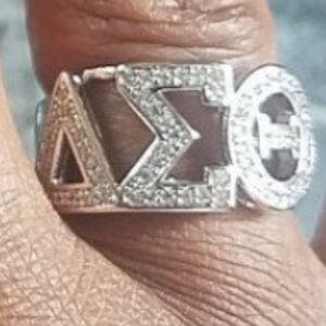 Brand new 925 Delta Sigma Theta Ring